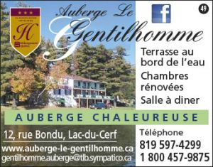 Auberge Le Gentilhomme